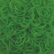Imaginea Elastice Rainbow Loom - Neon Verde - 600 buc.