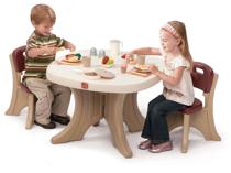 Imaginea Set Masuta + 2 scaune pentru copii