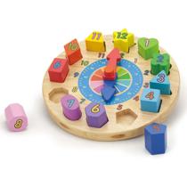 Imaginea Puzzle din lemn Ceas