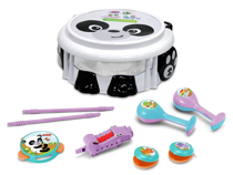 Imaginea Set muzical Panda - Fisher Price