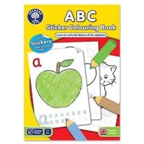 Imaginea Carte de colorat cu activitati in limba engleza si abtibilduri ABC