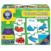 Imaginea Joc educativ - puzzle in limba engleza Invata culorile prin asociere COLOUR MATCH