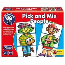 Imaginea Joc educativ Asociaza personajele PICK AND MIX PEOPLE