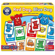 Imaginea Joc educativ loto in limba engleza Catelusii RED DOG BLUE DOG
