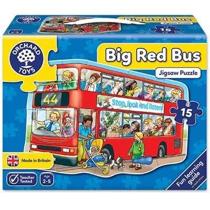 Imaginea Puzzle de podea Autobuzul (15 piese) BIG BUS