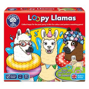 Picture of Joc educativ Lame cu colaci LOOPY LLAMAS