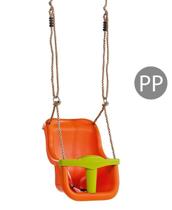Imaginea Leagan Baby Seat LUXE Culoare: Orange/Lime Green, franghie PP 10
