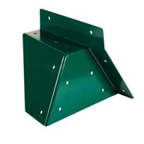 Imaginea Coltar Universal forma patrata, unghi oblic Verde